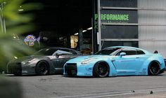Liberty Walk Performance Nissan GTRs