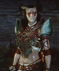 f Tiefling Ranger Royal Army Scout Med Armor Sword midlvl Adaar Dragon Age Qunari, Character Inspiration, Character Design, Dragon Age Games, My Fantasy World, Dragon Age Inquisition, Video Game Characters, Electronic Art, Cool Cartoons
