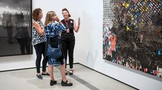 Contemporary art isn't easy, and the new museum's creators wanted first-time visitors to feel welcome. So The Broad's guards act as friendly ambassadors — ready to engage with visitors about the art.