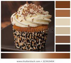 Cupcake Cream Sprinkles Palette Complimentary Colour Stock Photo (Edit Now) 323919404 Black Color Palette, Color Schemes Colour Palettes, Color Combos, Cupcake Cream, Complimentary Colors, Dream Decor, Color Swatches, Color Pallets, Sprinkles