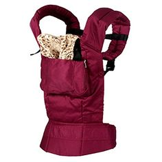 Fanala Front and Back Baby Carrier Infant Ergonomic Cotton Backpack Sling Wrap with Activity Gear SuspendersWine Red ** Click image for more details. (This is an affiliate link) #ChildCarrierPacks