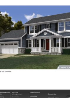 1000 Images About Siding Colors On Pinterest Siding