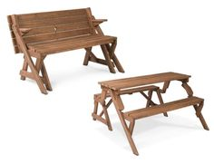 smart wooden folding picnic tables design ideas