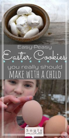 Savoring the Sweetness of Easter Egg White Cookies, Easter Cookies, Resurrection Day, Resurrection Cookies Recipe, Candy Crafts, Meringue Cookies, Easter Traditions, Easter Crafts, Easter Ideas
