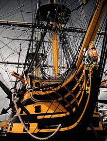 HMS Victory - Wikipedia, the free encyclopedia bow & figurehead, 2007.