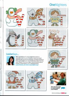 Gallery.ru / Фото #21 - Cross Stitch Crazy 169 ноябрь 2012 + приложение Christmas Co - tymannost