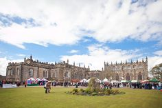 Auckland Castle is the perfect setting for the Bishop Auckland Food Festival