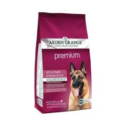 Arden Grange Premium rich in fresh chicken diet has been specially formulated to provide all the daily nutritional requirements for an adult dog with a normal lifestyle. Recommended for: Adult dogs aged requiring a maize/corn free diet Fresh Chicken, Chicken Rice, Sin Gluten, Fish Recipes, Dog Food Recipes, Fresco, Daily Nutritional Needs, Wet Dog Food, Shopping