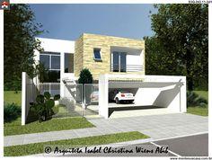Planta de Sobrado - 3 Quartos - 243.11m² - Monte Sua Casa