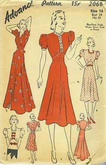 Advance 2060 - Vintage Sewing Patterns