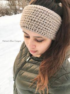 Faux Knit Ear Warmer - Free Crochet Pattern