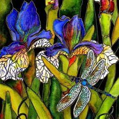 Kate Larsson's watercolors