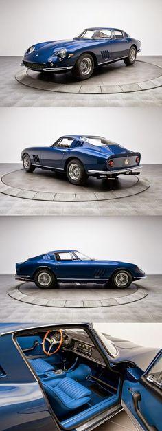 GOOD LIFE & GOOD TASTE: Lingote de Oro puro... Ferrari 275 GTB/4 1967.