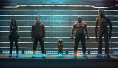 Disney just released the official first image from Marvel Studios' Guardians of the Galaxy .