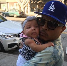 TI & baby Heiress Harris