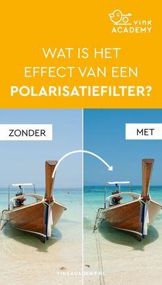 Fotografie tips voor beginners: wanneer gebruik je een polarisatiefilter bij het fotograferen en waarom gebruik je een pola filter? Met een polarisatiefilter op de lens verwijder je reflecties. Dit geeft bij natuurfotografie vaak een mooiere blauwe kleur van het zeewater en de lucht.Bekijk het Nederlandse artikel voor meer fototips, uitleg en voorbeeldfoto's met en zonder een polarisatiefilter. #fotografietips