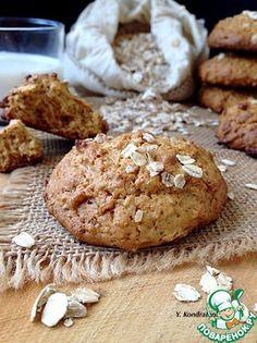 Овсяное печенье с мёдом (по рецепту А. Селезнева)