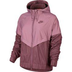 Size: U. Women's Small Color: Port Wine Purple Official Nike Windrunner Windbreaker Jacket Nike Windrunner, Windrunner Jacket, Windbreaker Jacket, Hooded Jacket, Nike Jacket, Rain Jacket, Raincoat Outfit, Raincoats For Women, Nike Logo