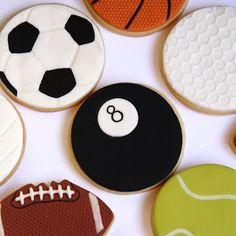 Couture Cupcakes & Cookies: Sports themed party
