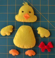 Down Grapevine Lane: Tutorial: Easter Chick