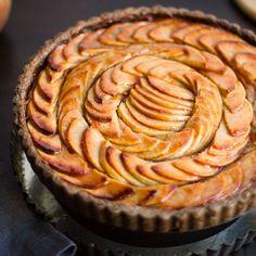 Apple Quince Tart with Gluten-Free Buckwheat Crust • The Bojon Gourmet