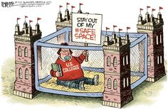 College Safe Spaces, Rick McKee, The Augusta Chronicle
