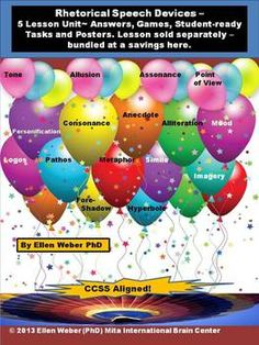Find in this Five Lesson CCSS Aligned Unit Bundle-  1. Brain Based Unit Overview Chart of all Tasks and all Lessons included  2. All Sta...