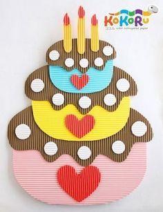 Ideas Birthday Board Preschool Diy For 2019 Foam Crafts, Craft Stick Crafts, Preschool Crafts, Diy And Crafts, Crafts For Kids, Arts And Crafts, Paper Crafts, Board Decoration, Class Decoration