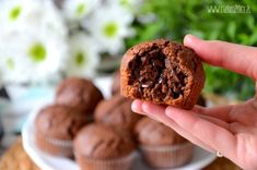 Proste babeczki czekoladowe w 15 minut? Tak to możliwe! Cake Recipes, Snack Recipes, Snacks, Sweet Little Things, Healthy Sweets, Food And Drink, Tasty, Meals, Cookies
