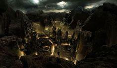 Blackshear Cliffs Dark Immagini