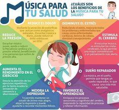 La música es buena para tu salud ;) #estudiantes #bienestar #salud