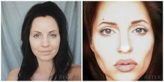 Transformation to Angelina Jolie by me.