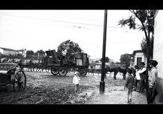Rua Fernão Dias com lama por todos os lados, anos 1900 - Raul Goldschmidt