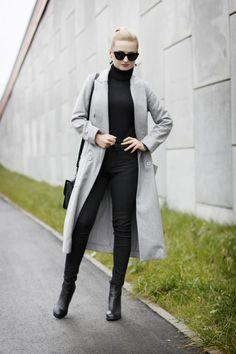 Grey Coat - styllove, blog o modzie