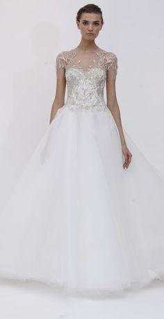 Marchesa wedding dress Paris
