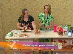 """ENFEITE DE NATAL COM CD USADO - """"PROGRAMA DE BEM COM A VIDA"""" - YouTube"""
