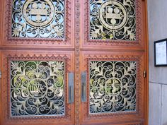 Rush Rhees Library door - University of Rochester - Meliora University Of Rochester, Rochester New York, My Community, Physicist, Gates, Windows, Doors, Learning, My Love