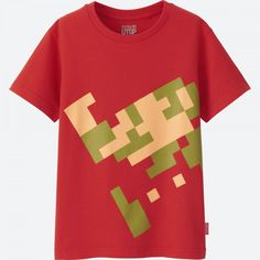 Starting May Nintendo-themed t-shirts are heading to UNIQLO stores worldwide. Last July, UNIQLO teamed up with Nintendo to hold the . Uniqlo, Nerdy Shirts, Kids Shirts, Nintendo, Freaks And Geeks, 2017 Design, Zelda, Super Mario Bros, Me Too Shoes