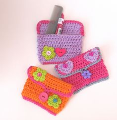 Ravelry: Girls Small Purse / Wallet pattern by Eva Unger