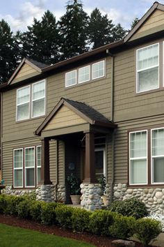 Exterior House Painting by Mountain Painting Company in Tigard, OR