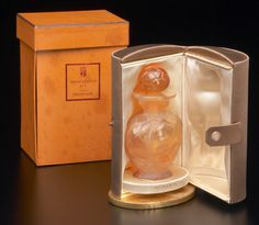 Morabito with bottle by Lalique