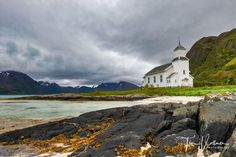 Lovely church at the fjords from Lofoten/Norway. Join us in September to our next Photo tour to capture Aurora boralis. http://ift.tt/2EMLKU0