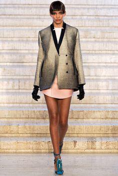 Antonio Berardi Fall 2012 Ready-to-Wear Fashion Show - Cora Emmanuel