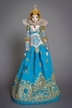 The Bloody Lady Elizabeth Bathory - Enchanted Doll by Marina Bychkova