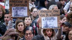 Argentina:|Se creó pagina web para recibir datos de Santiago Maldonado