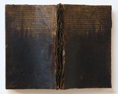 blackv:    (via Kim Bruce Fine Art   Encasutic Painting   Open Book)
