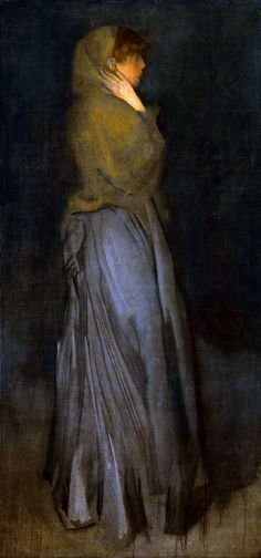 Learn more about Arrangement in Yellow and Grey: Effie Deans James Abbott McNeill Whistler - oil artwork, painted by one of the most celebrated masters in the history of art. James Abbott Mcneill Whistler, Charles Gleyre, Manet, Art Moderne, Art For Art Sake, Vintage Artwork, American Artists, Love Art, A4 Poster