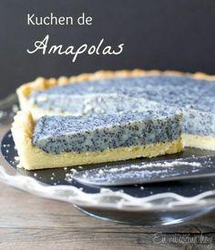 Kuchen de amapolas / Poppy seed kuchen | En mi cocina hoy