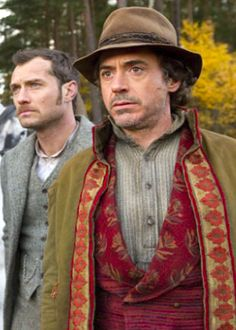 """Jude Law and Robert Downey Jr. - """"Sherlock Holmes: A Game of Shadows"""""""
