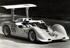Jim Hall in the big block Chaparral 2G - Elkhart Lake Can Am 1967